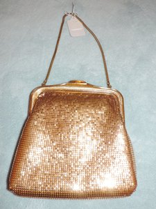 Oroton Gold Clutch
