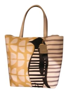 Anthropologie Brand New Tote in Grey/Yellow/Wht./ Blk