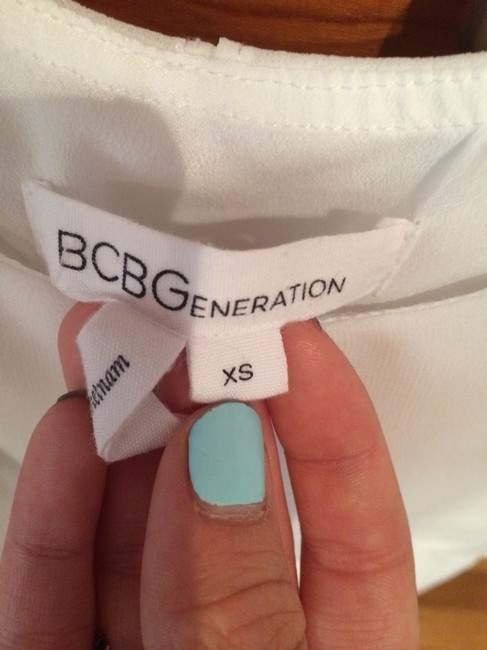 BCBGeneration short dress White on Tradesy