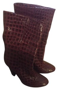 Jimmy Choo Red / oxblood Boots