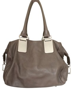 Banana Republic Satchel in Taupe