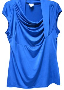 Worthington Top deep cobalt blue
