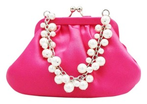 Carolee Snap Pouch Pearl PINK Clutch