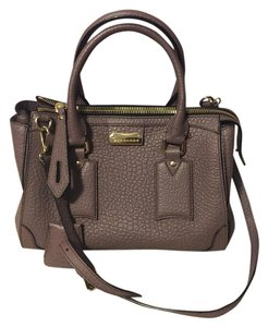 Burberry Satchel in Dusky Mauve