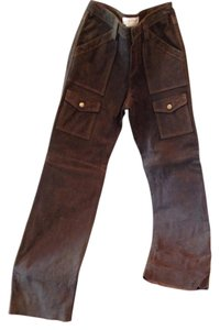 Margaret Godfrey Cargo Jeans-Distressed
