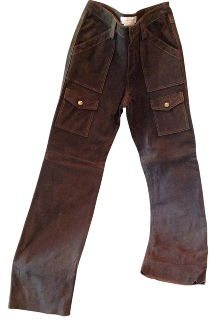 Item - Brown Distressed Cargo Jeans Size 28 (4, S)
