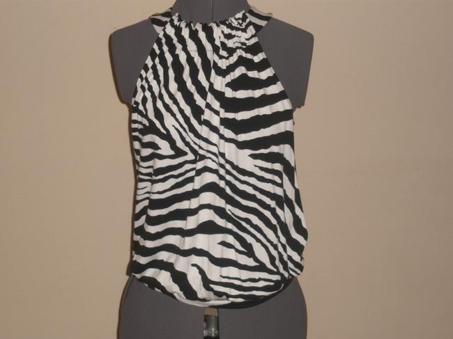 Express short dress Black & White Zebra Print on Tradesy Image 3