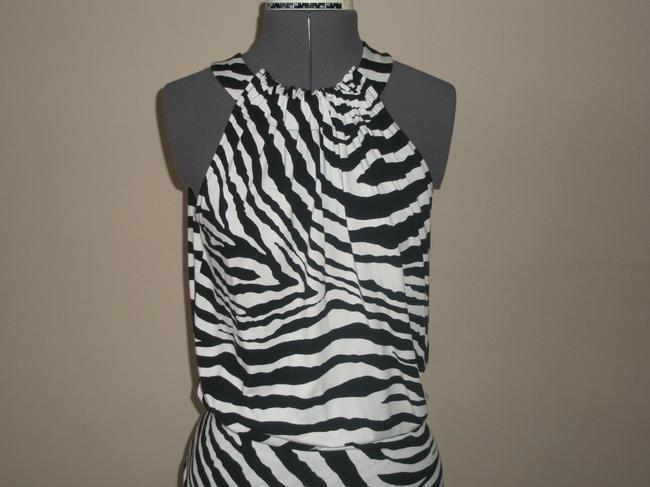 Express short dress Black & White Zebra Print on Tradesy Image 4