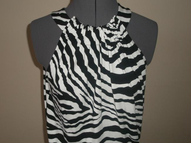 Express short dress Black & White Zebra Print on Tradesy Image 5