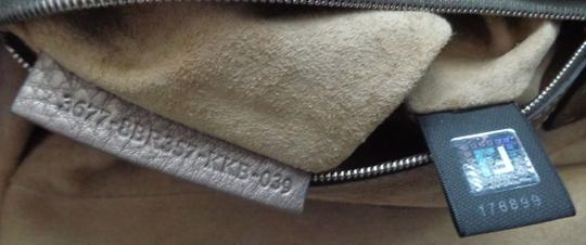 Fendi Silver Hardware Sterling Silver Tags Selleria Dust Shoulder Bag
