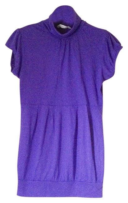 Preload https://img-static.tradesy.com/item/11737156/derek-heart-purple-short-sleeve-turtleneck-tunic-size-10-m-0-1-650-650.jpg