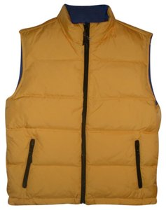 Lands End Full Front Zipper Vest