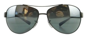 Ray-Ban New Ray-Ban Sunglasses RB 3386 029/88 Matte Gunmetal Navy Silver Mirror Lens Metal Full-Frame 63mm