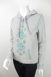 Lucky Brand Lucky Lucky Lotus Tribal Aztec Studded Sweater Sweatshirt