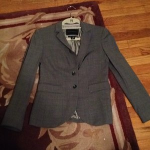 Banana Republic Banana Republic 2 P PETITE Grey Blazer