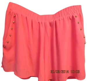 blu pepper Skort coral orange