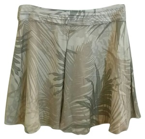 A|X Armani Exchange Silk Mini Skirt