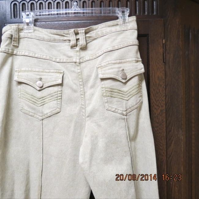 Soft Surroundings Boot Cut Pants tan