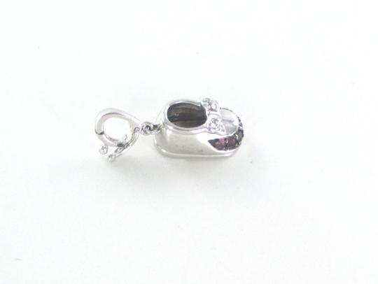 Other 14KT SOLID WHITE GOLD BABY SHOE Image 7