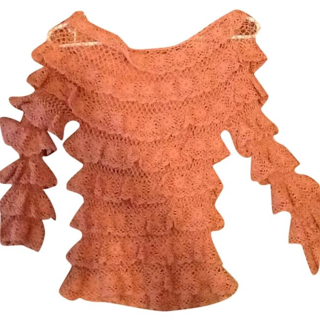 Arden B. #knitted #rose #champagne Top Rose