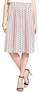 Ace Delivery Pleats Midi Skirt Print