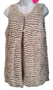 Betsey Johnson Faux Fur Vest