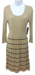 Spense short dress WHEAT Knit on Tradesy