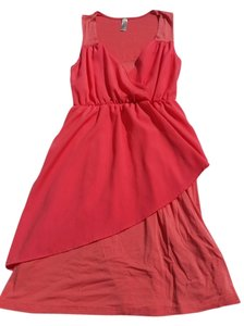 Francesca's short dress Coral on Tradesy