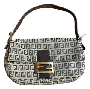 Fendi Vintage Designer Shoulder Bag