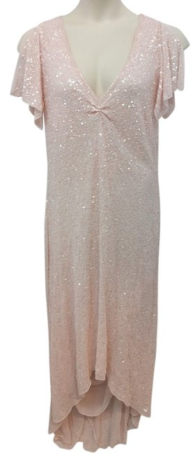 Item - Pink Embellished 16 High-low Cocktail Dress Size 18 (XL, Plus 0x)