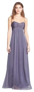 Adrianna Papell Empire Waist Embellished Sweetheart Gown Dress