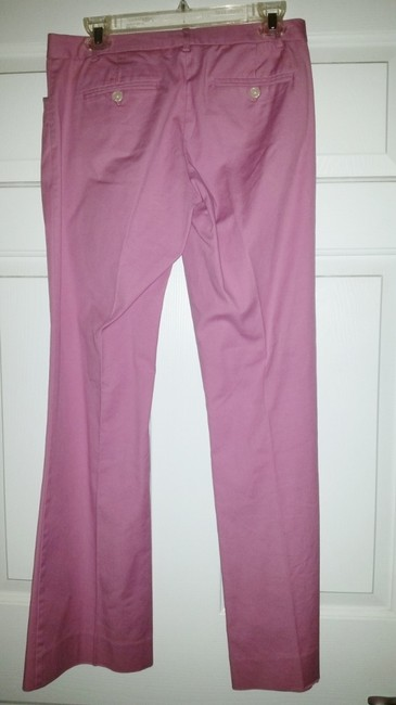 The Limited Straight Pants Pink