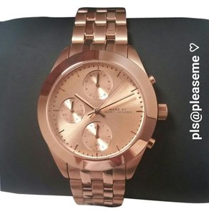 Marc Jacobs Ladies Rose Gold Watch