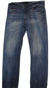 Rocawear Straight Leg Jeans-Distressed