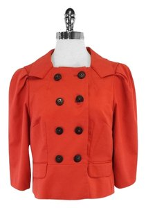 Robert Rodriguez Cropped Orange Jacket