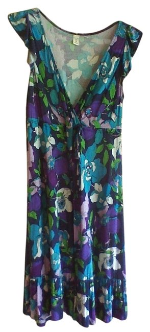 Old Navy short dress Blue, Green, and Purple on Tradesy