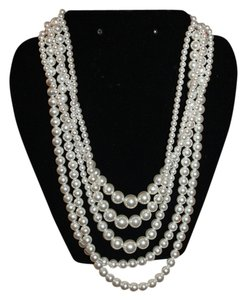 Sarah Coventry Vintage 5 Strand Convertable Necklace