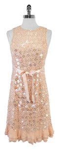 Laundry by Shelli Segal short dress Blush Bead Sequin on Tradesy