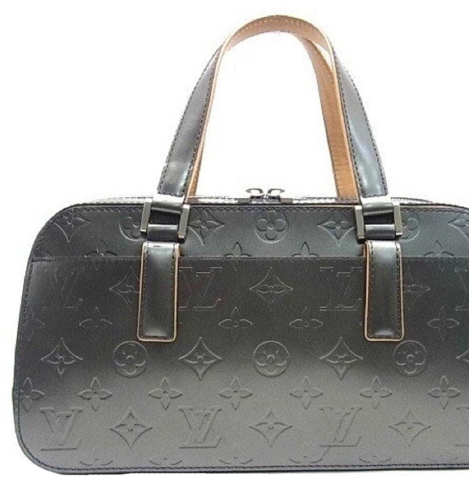 louis vuitton vernis monogram shelton mat noir satchel satchels on sale. Black Bedroom Furniture Sets. Home Design Ideas