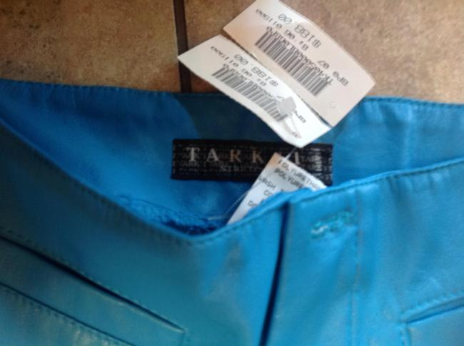 Tark 1 French Size T 3 Straight Pants Turquoise