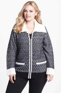 Sejour Jacket Plus Size Wool Sweater