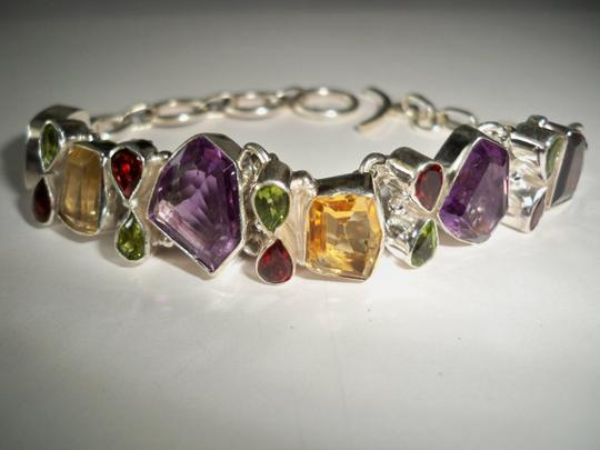 Other Multi Gemstone Fine Jewelry .925 Sterling Set Image 2