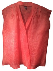 Gianfranco Ferre Top Coral