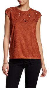 Max Studio T Shirt TERRACOTA