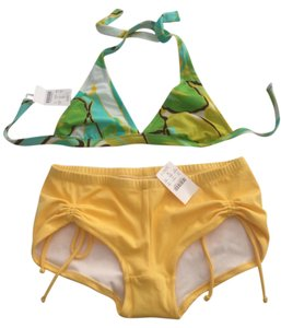 J. Crew Halter Bikini Top With Boy Shorts