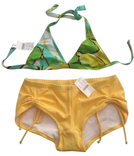 J.Crew Halter Bikini Top With Boy Shorts