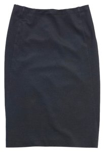 Donna Karan Grey Stretchy Pencil Skirt