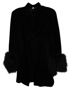 Feathered Coat Fur Coat