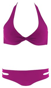 Monica Wise L Space Berry Colored Bikini