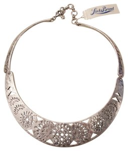 Lucky Brand BRAND NEW! Lucky Brand Silver-Tone Openwork Collar Necklace